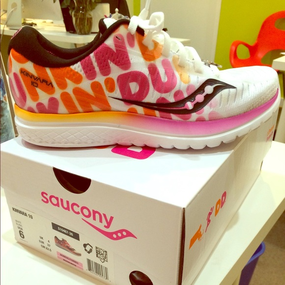 ce1298f0 Saucony Shoes | Limited Edition X Dunkin Kinvara 10 | Poshmark